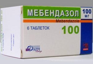таблетки от остриц у ребенка