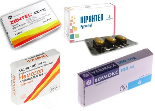 лекарства для детей от глистов отзывы
