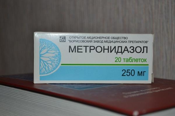 как принимать метронидазол при уреаплазме