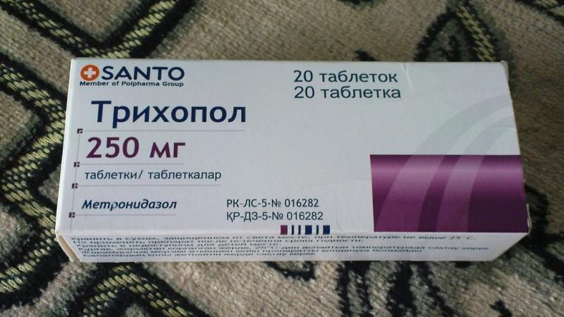 препараты от лямблий для детей