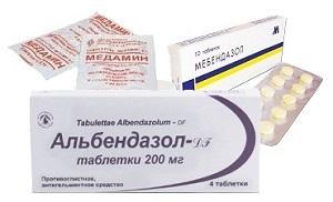 препараты при токсокарозе