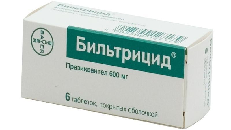 таблетки от описторхоза