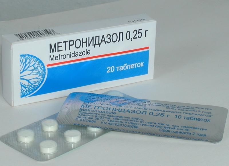 Метронидазол от прыщей - средство, эффективное при разных заболеваниях