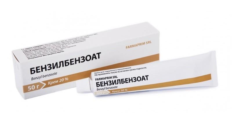 чесотка лечение бензилбензоатом
